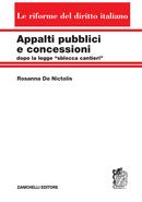Appalti pubblici e concessioni