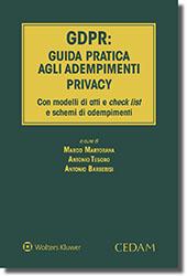 9788813368548 GDPR Guida pratica agli adempimenti privacy