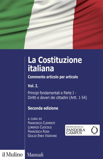 9788815292216 La Costituzione Italiana VOL 1