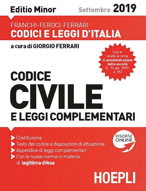 Codice civile e leggi complementari minor