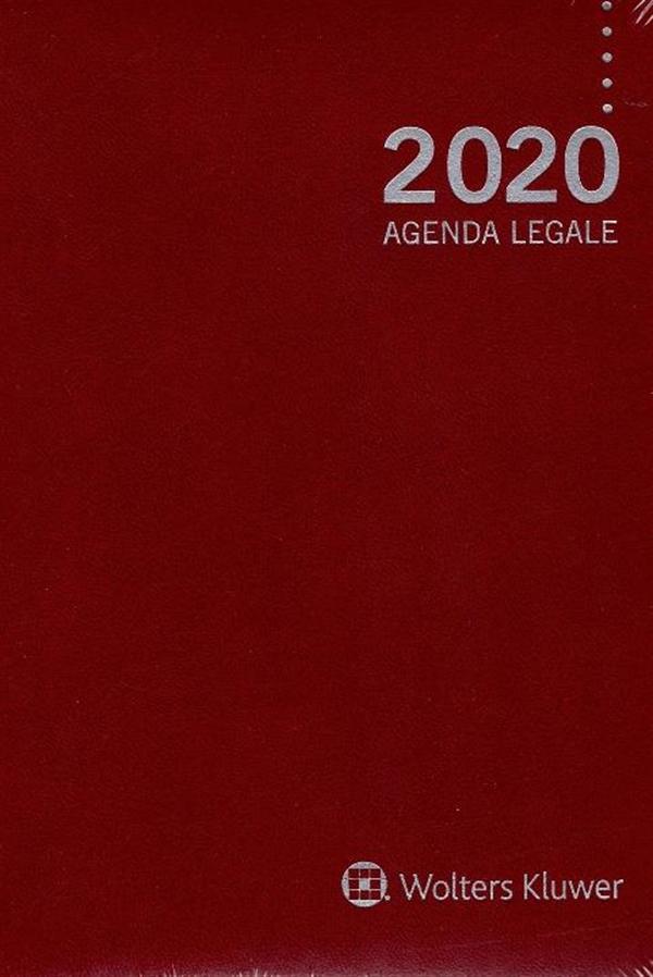 9788821769993 Agenda legale 2020