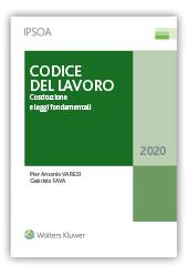 Codice del lavoro Costituzione e leggi fondamentali