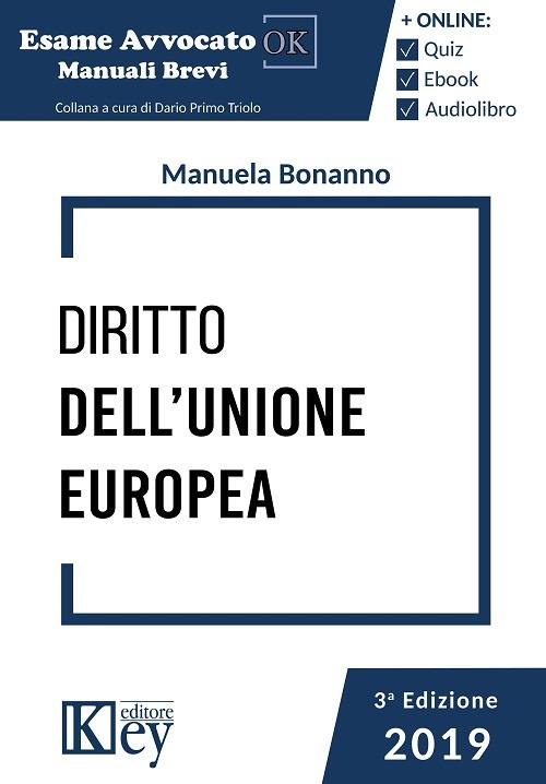 9788827903940 Diritto dell'Unione Europea