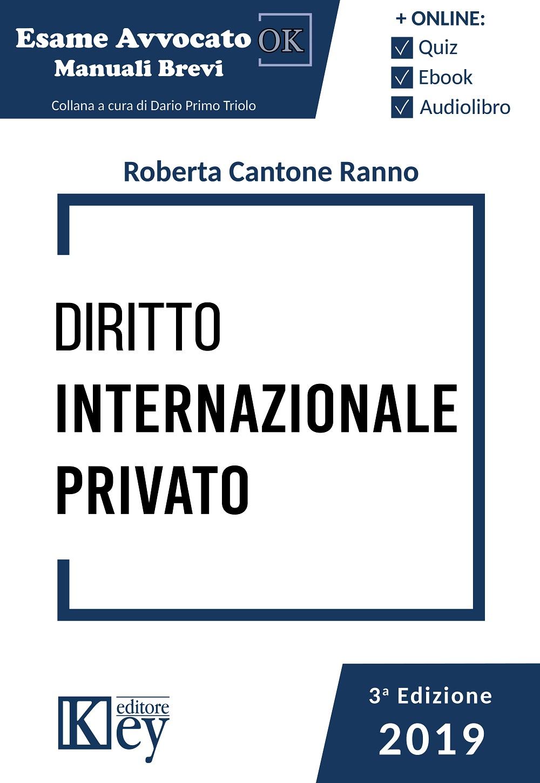9788827903964 Diritto internazionale privato