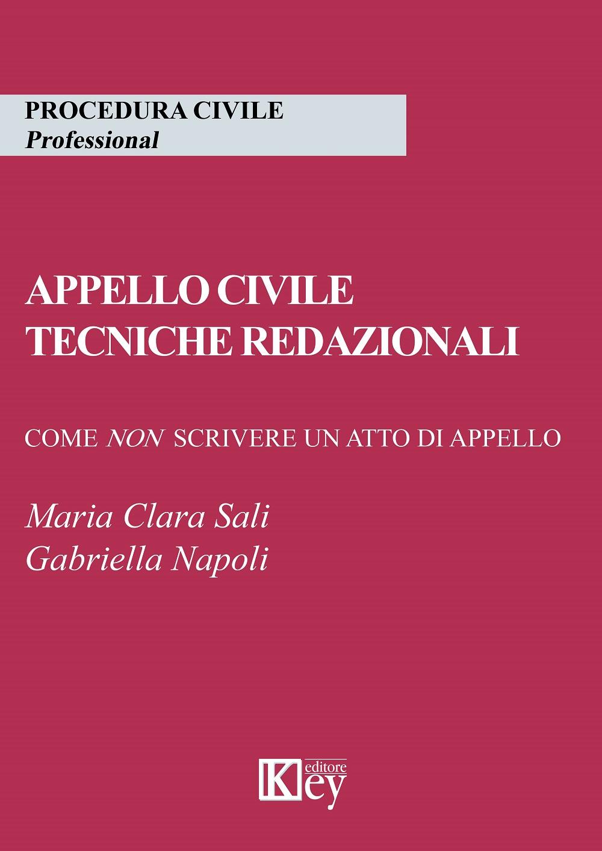 Appello civile tecniche redazionali