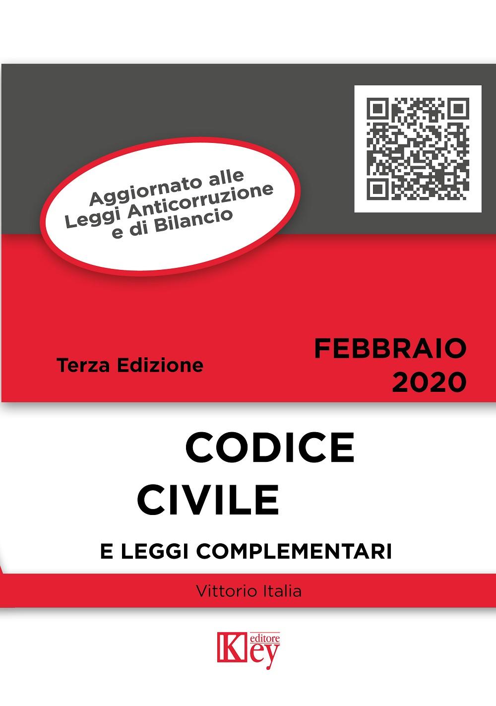 9788827905708 Codice civile