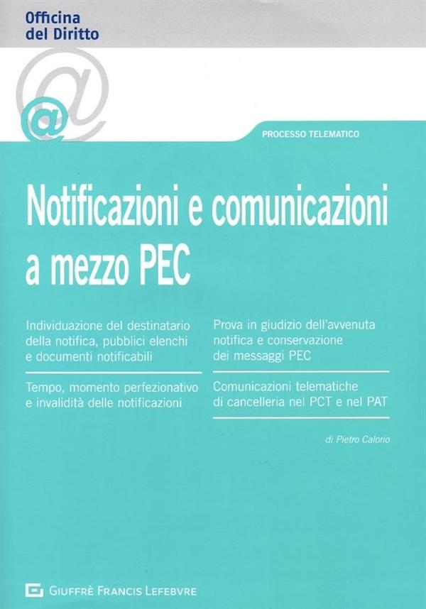 Notificazioni e comunicazioni a mezzo PEC