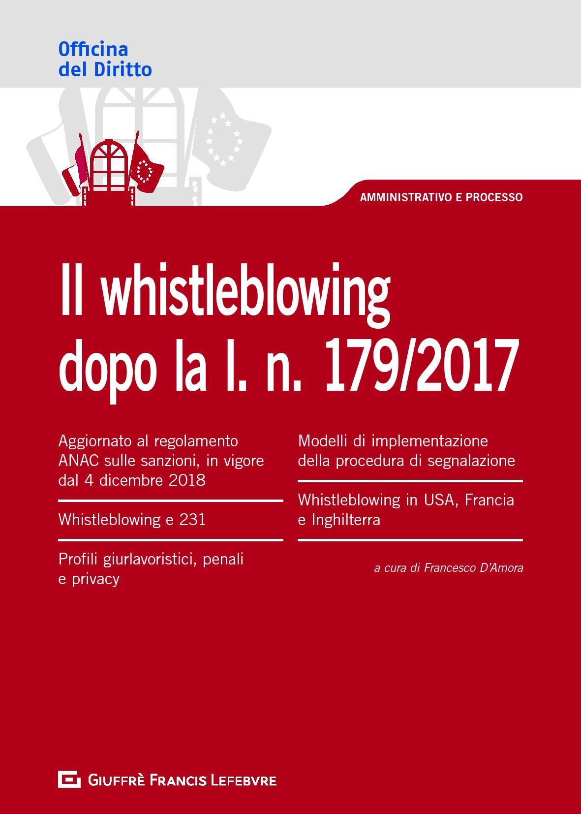 Il whistleblowing dopo la l. n. 179/2017
