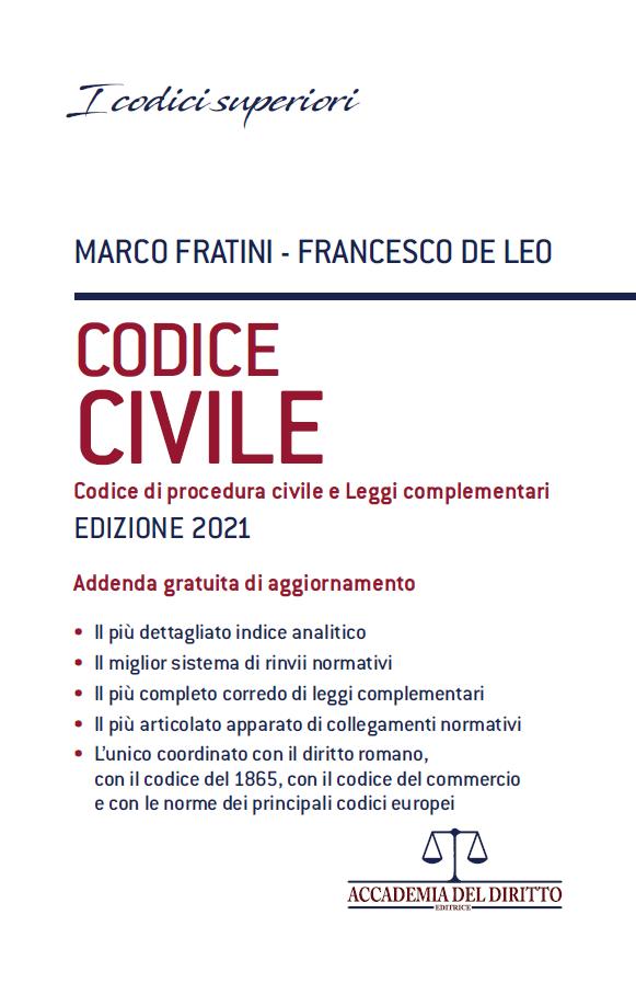 9788831337113 Codice civile + addenda