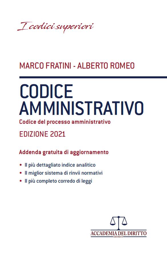 9788831337137 Codice amministrativo + addenda indici