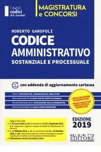 9788832704617 Codice amministrativo sostanziale e processuale