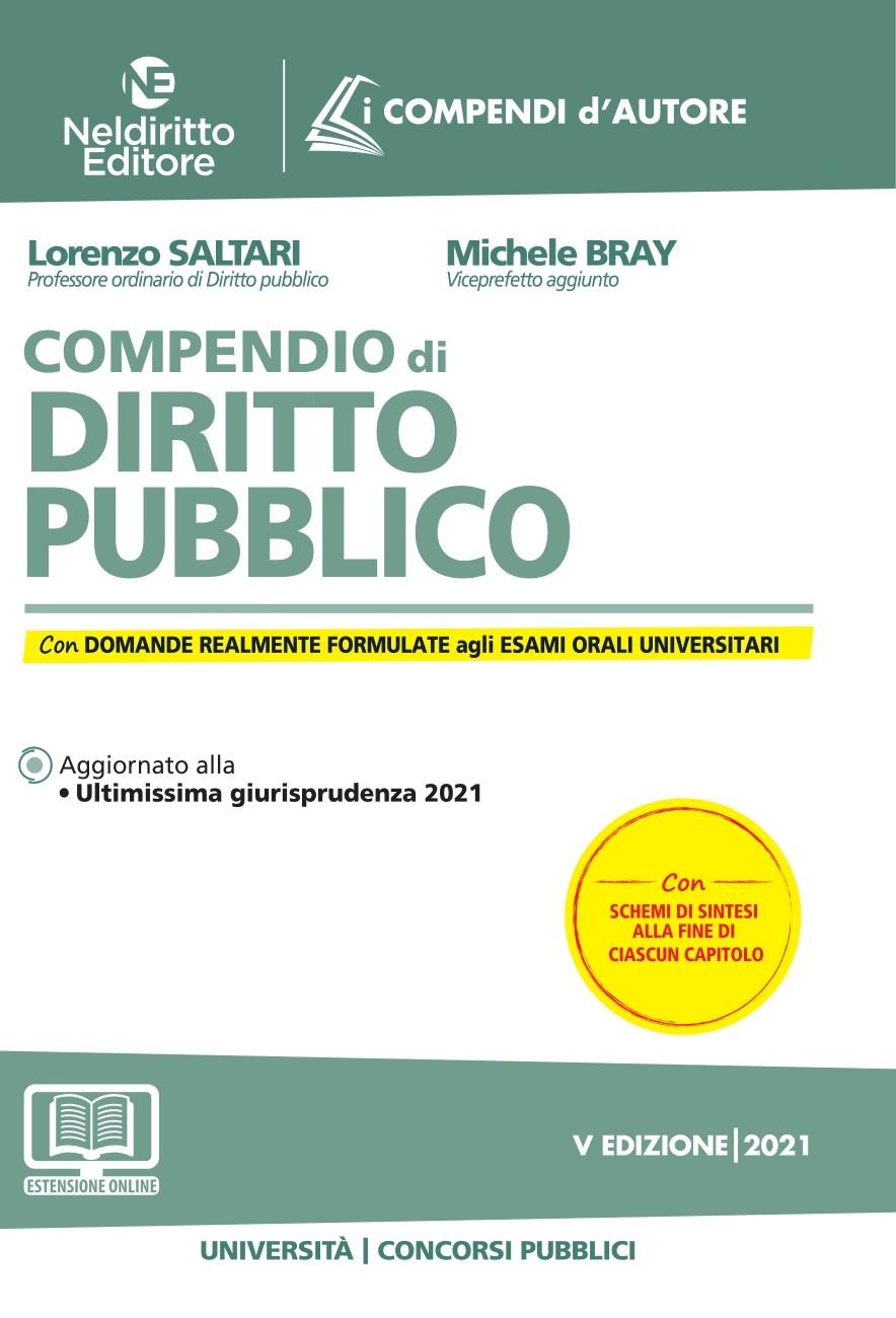 9788832708097 Compendio di diritto pubblico