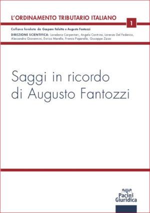 9788833792927 Saggi in ricordo di Augusto Fantozzi