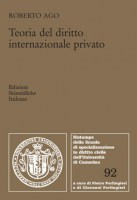 Teoria del diritto internazionale privato
