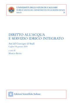 9788849540079 Diritto all'acqua e servizio idrico integrato