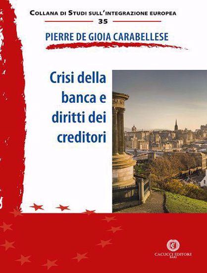 9788866119050 Crisi della banca e diritti dei creditori