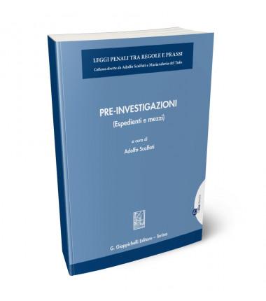 9788875244859 Pre-Investigazioni espedienti e mezzi