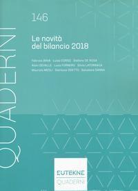 Le novità del bilancio 2018