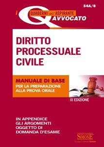 9788891413772 Diritto processuale civile manuale di base