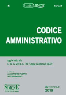 9788891419422 Codice amministrativo MINOR