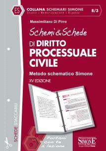 9788891419439 Schemi & Schede di diritto processuale civile