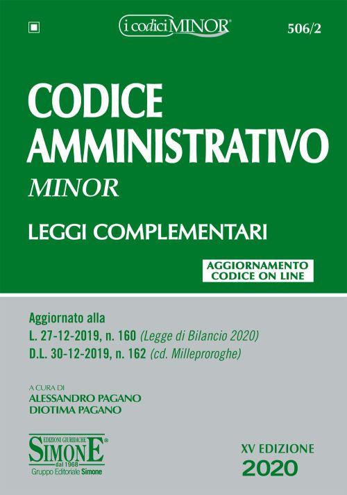 9788891422996 Codice amministrativo MINOR