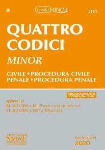 9788891423009 Quattro codici MINOR
