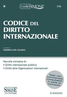 9788891423108 Codice del diritto internazionale