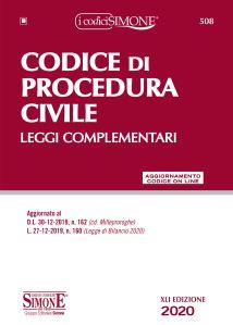 9788891423191 Codice di procedura civile