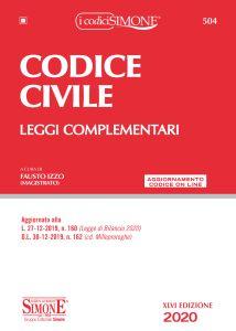 9788891423207 Codice civile