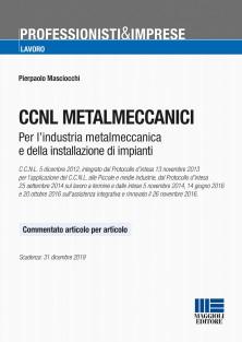 9788891621726 CCNL Metalmeccanici