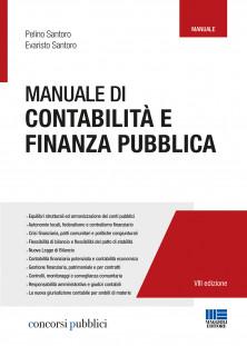 9788891629661 Manuale di contabilità e finanza publica