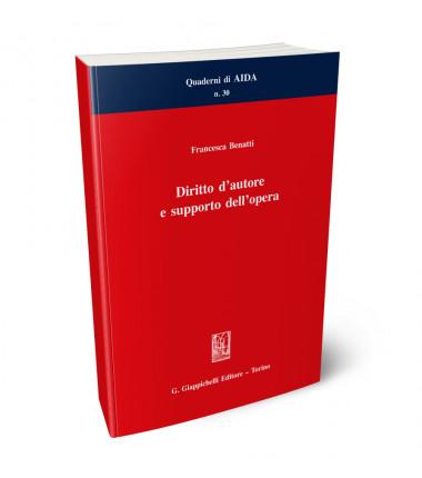 9788892121652 Diritto d'autore e supporto dell'opera