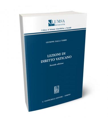 9788892136823 Lezioni di diritto Vaticano