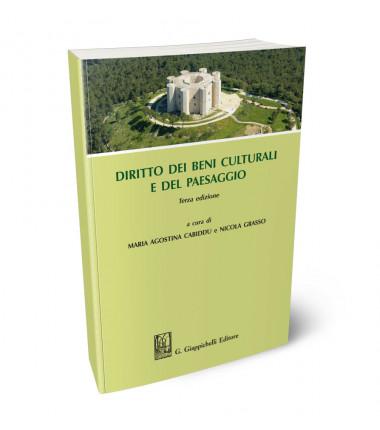 9788892137219 Diritto dei beni culturali e del paesaggio